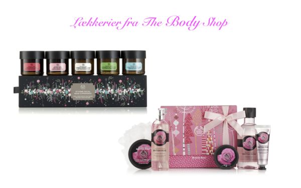 The Body Shop, gaveæsker, Ultimate Facial Mak Experience, British Rose Body, ansigtsmasker, kropspleje