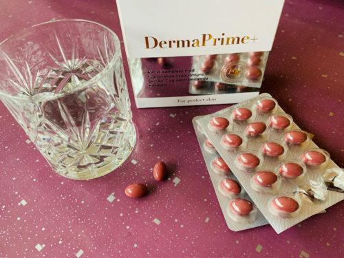 DermaPrime+, hudpleje indefra, kosttilskud, Novo Vita, kollagen,