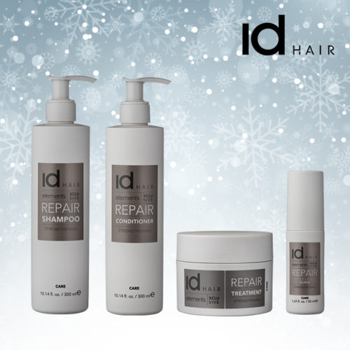 Elements Xclusive, IdHair, shampoo, conditioner, tørt hår, hårpleje, hårserum, hårkur