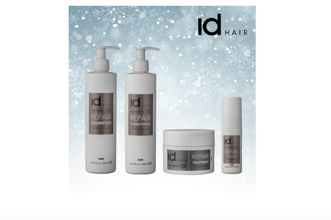 Elements Xclusive, IdHair, shampoo, conditioner, tørt hår, hårpleje, hårserum, hårkur