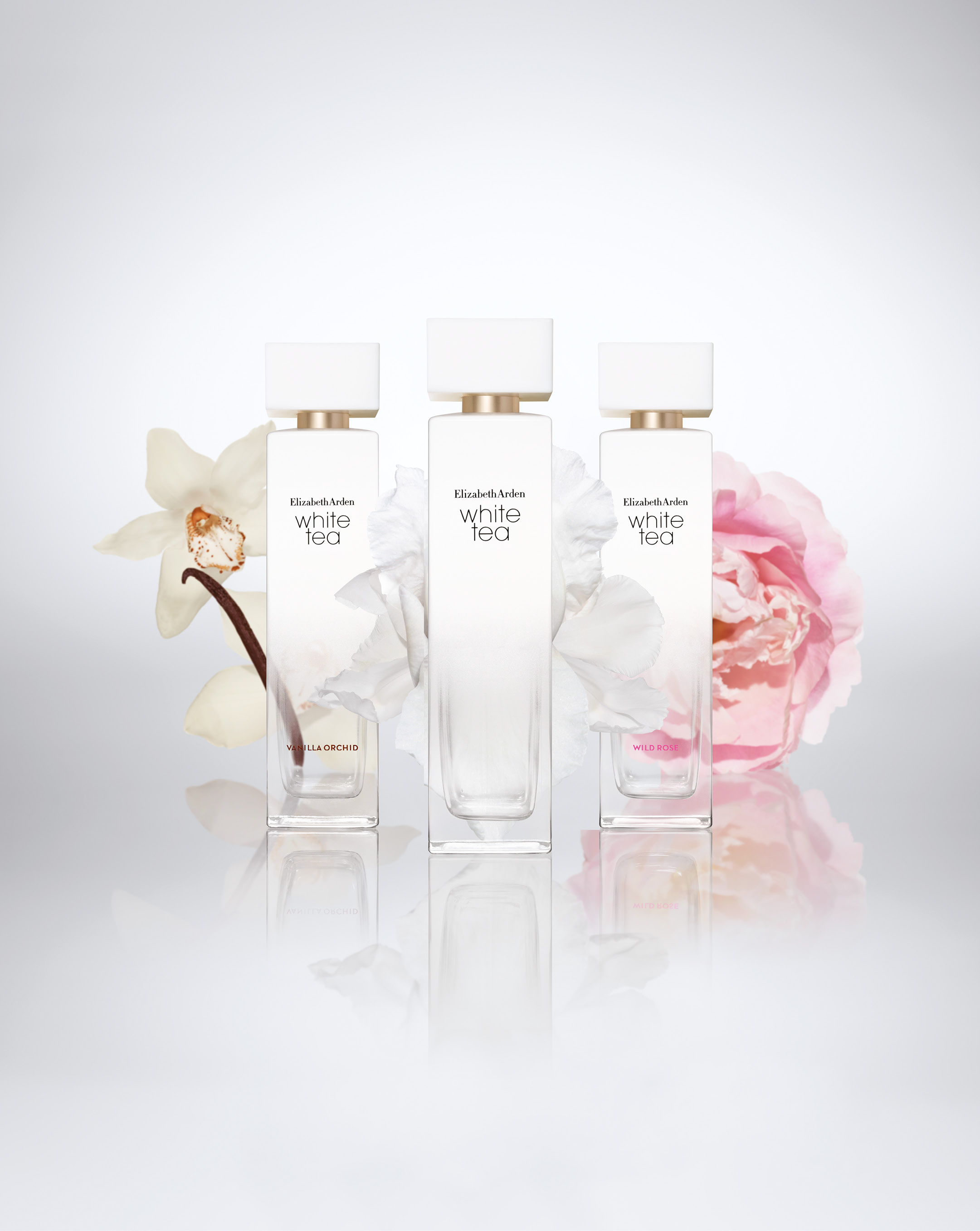 Elizabeth Arden, White Tea, parfumer, Reese Witherspoon, konkurrence