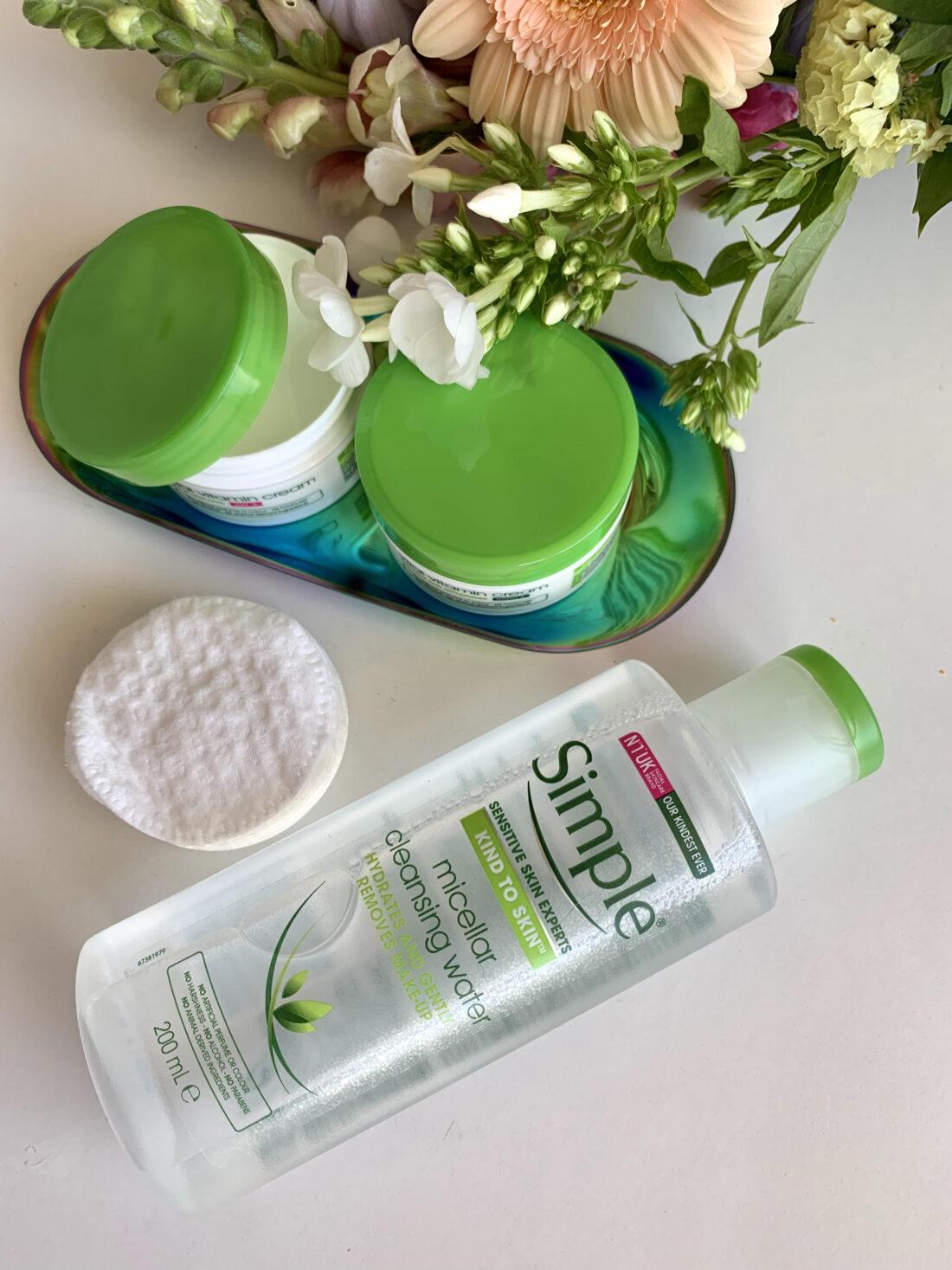 Sensitiv hud, Simple Skincare, tips, hudpleje