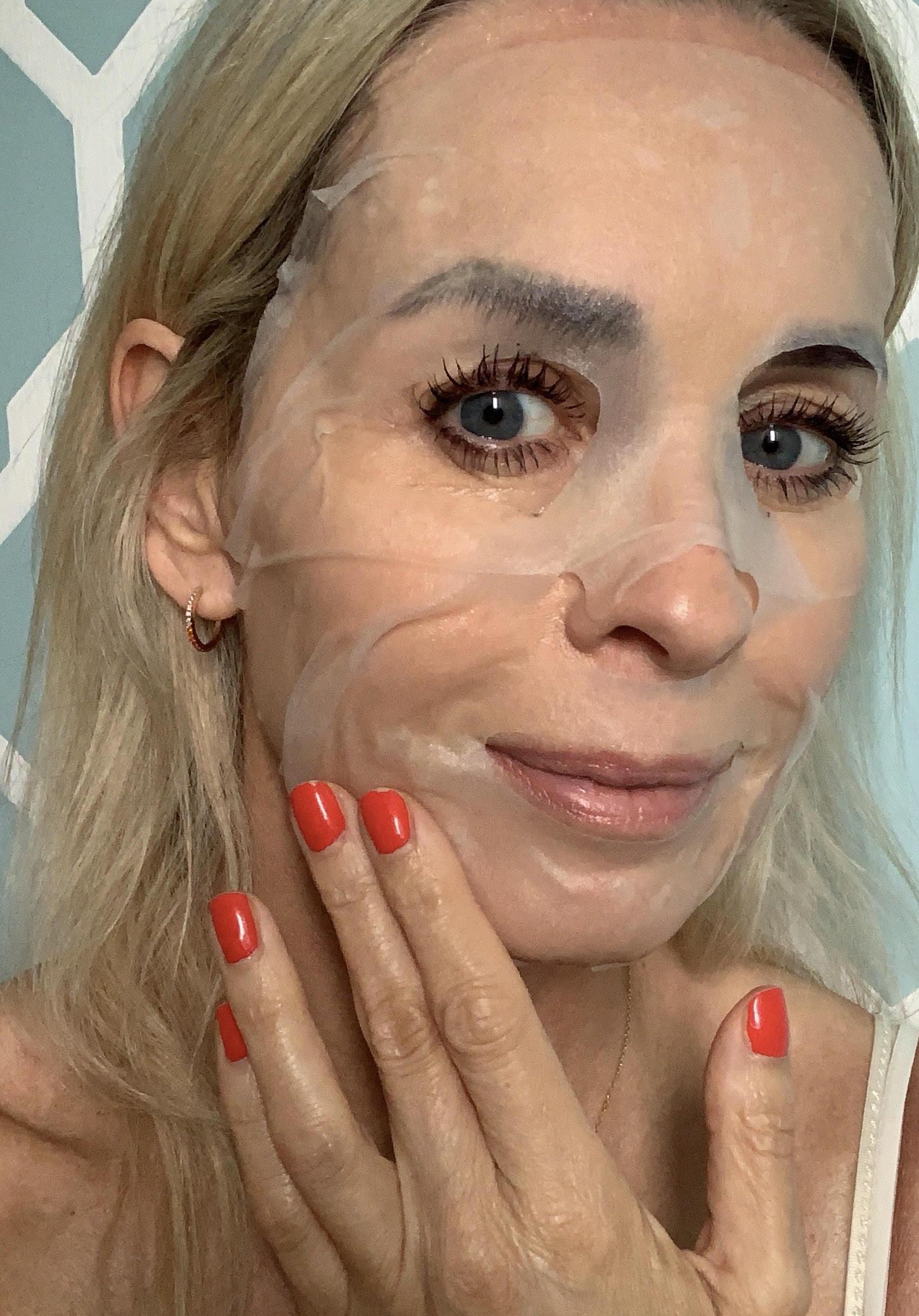 Simple, sheetmasken, ansigtsmaske, sensitiv hud,