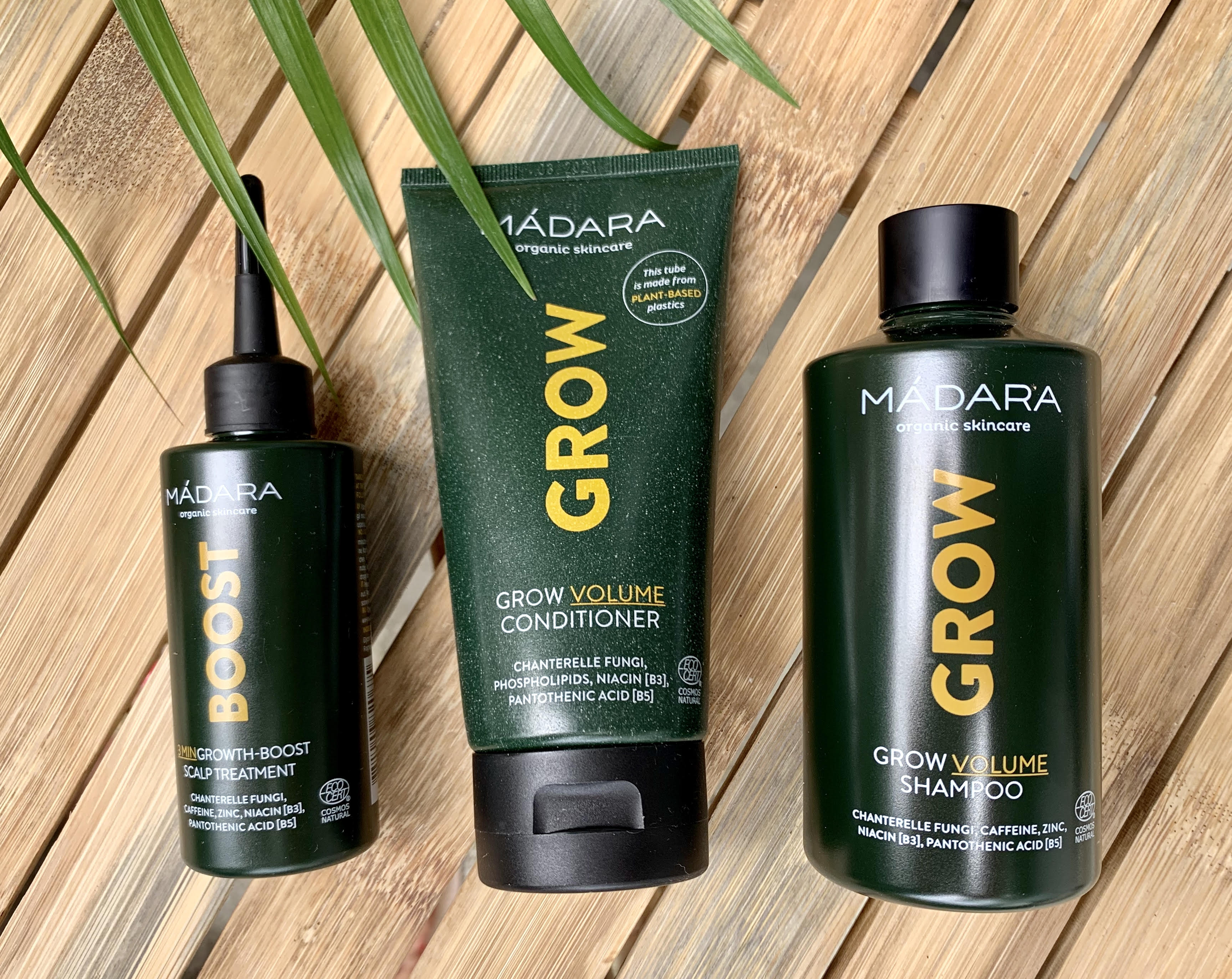 GROW, Madara, hårpleje, hårvækst, hårvitaminer, hår