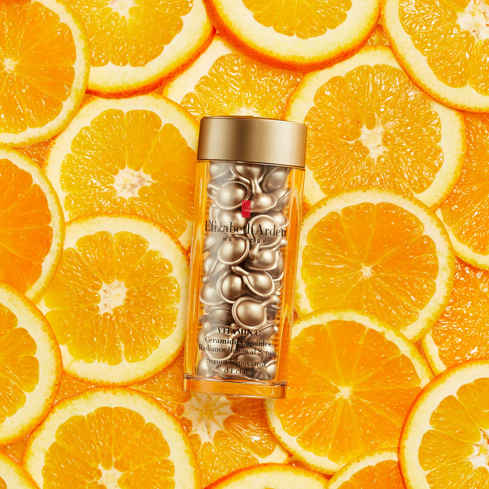 C-Vitamin, ceramidekapsler, julekalender, Elizabeth Arden, klar hudtone, glød