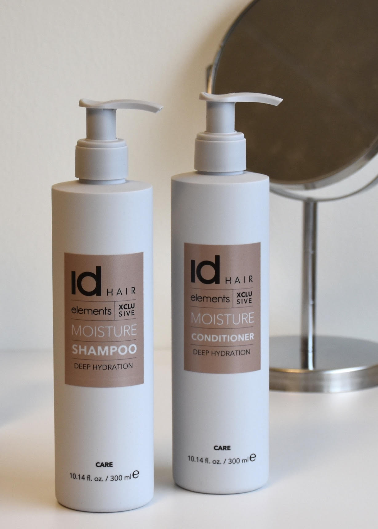 Id Hair, Elements Xclusive, hårpleje, shampoo, conditioner, styling, børste
