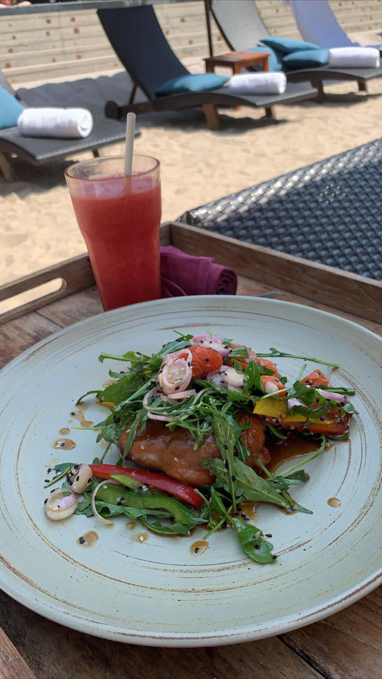 Frokost, Reassaince Phuket, hotel, ferie
