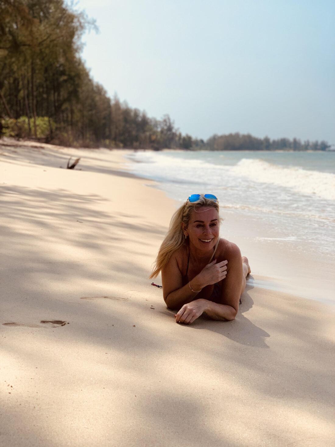 Silke, Thailand, Phuket, ferie, strand, venskab