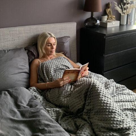 Bedre søvn med tyngdetæppe