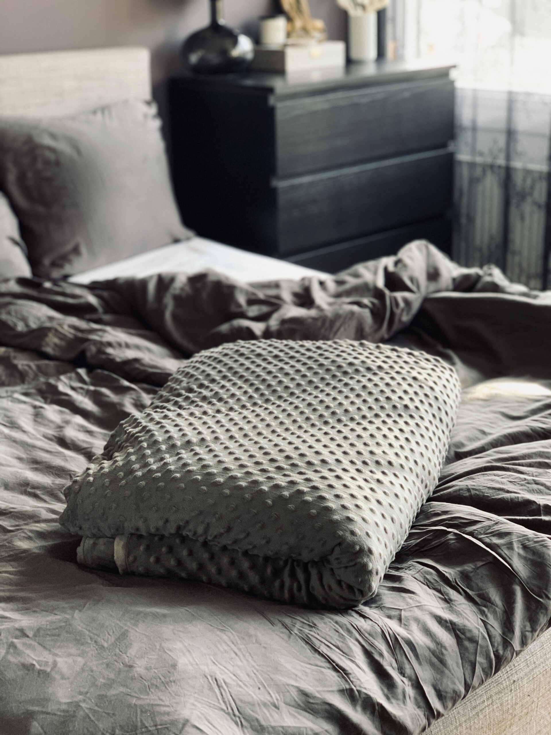 Tyngdetæppe, soveværelse, bedre søvn