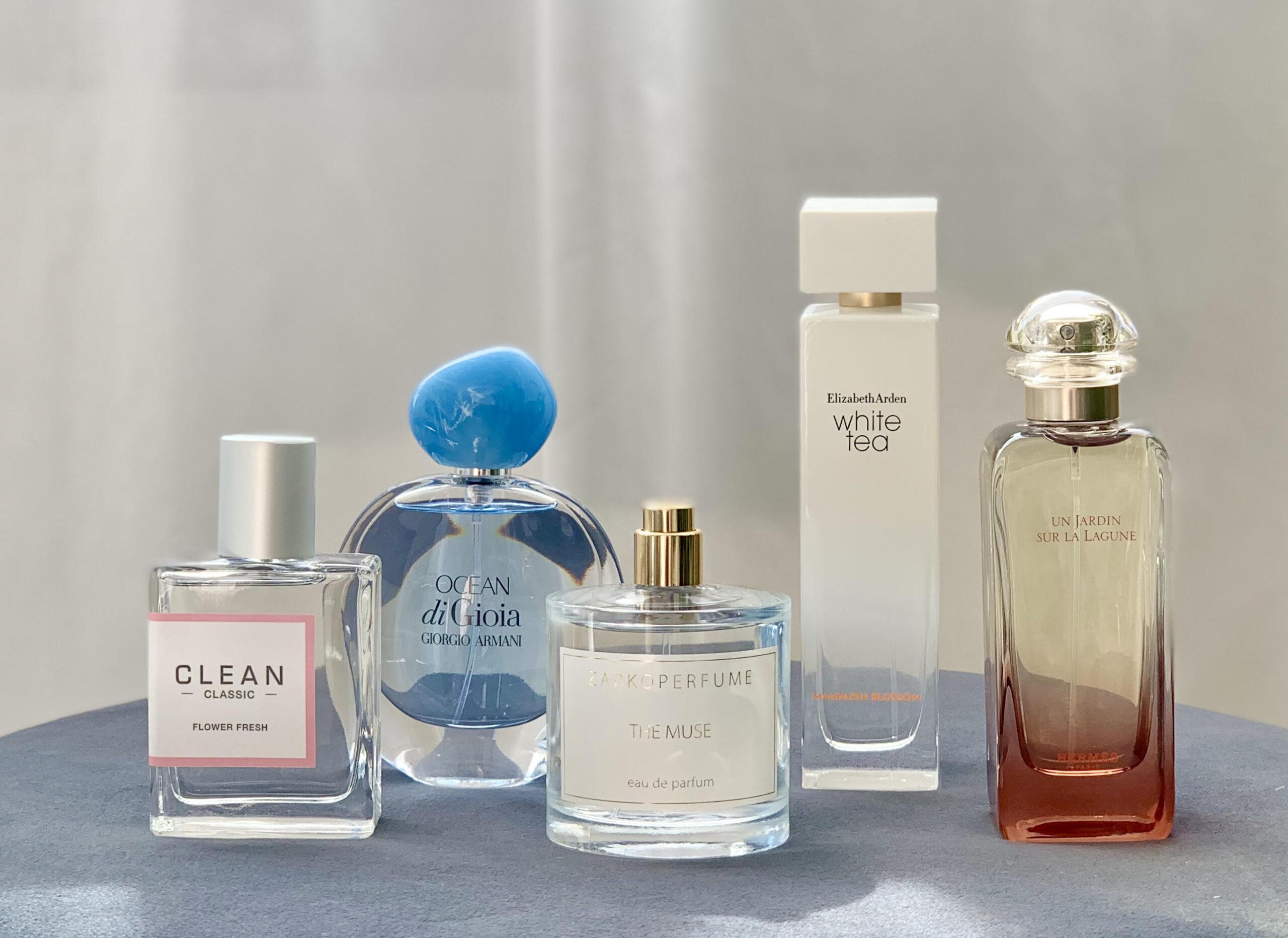 Parfume, sommerparfumer, lette dufte,