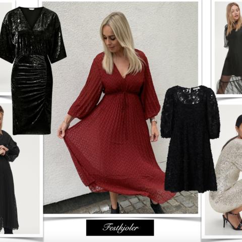 Fede, nye kjoler hos Ellos