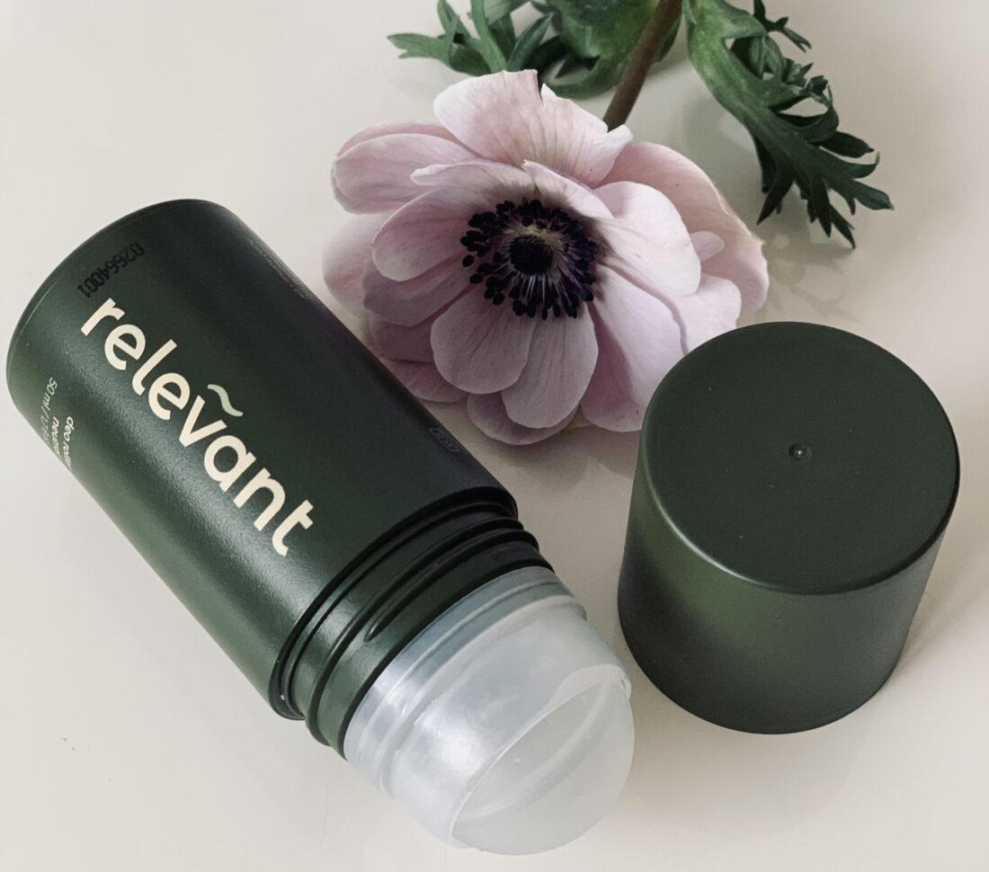 Relevant, naturlig deodorant, deodorant, vegansk, parfumefri, test, bæredygtig