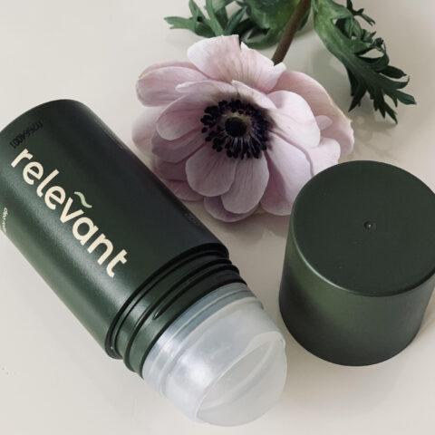 Test af naturlig deodorant fra Relevant