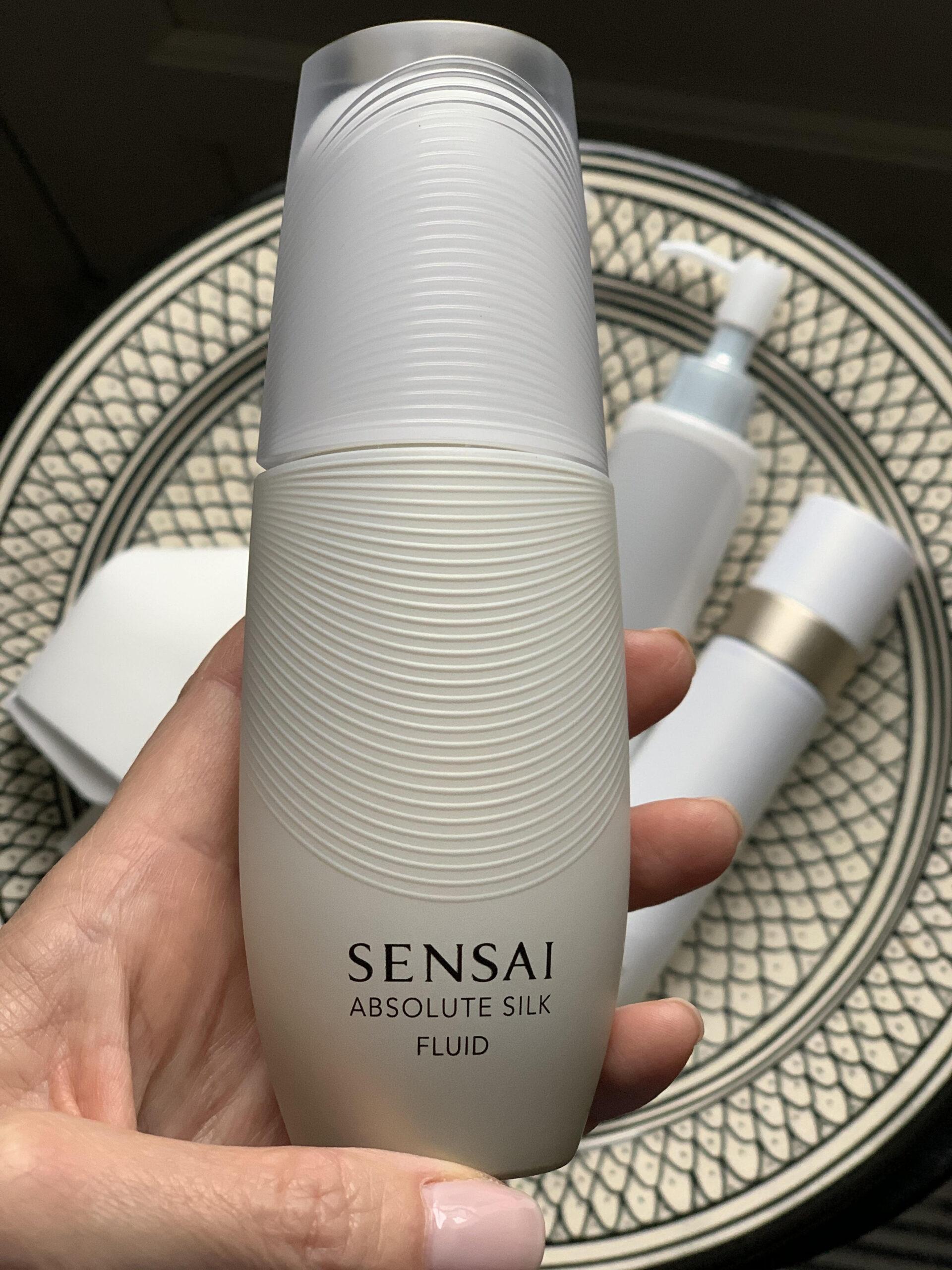 Sensai, silke, japansk hudpleje, Koishimaru silk, anti-age