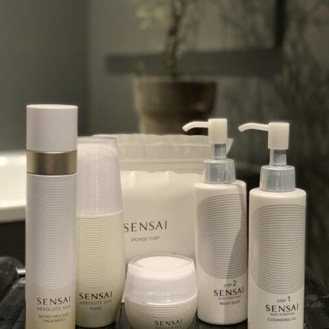 Forkæl huden med japansk silke fra Sensai