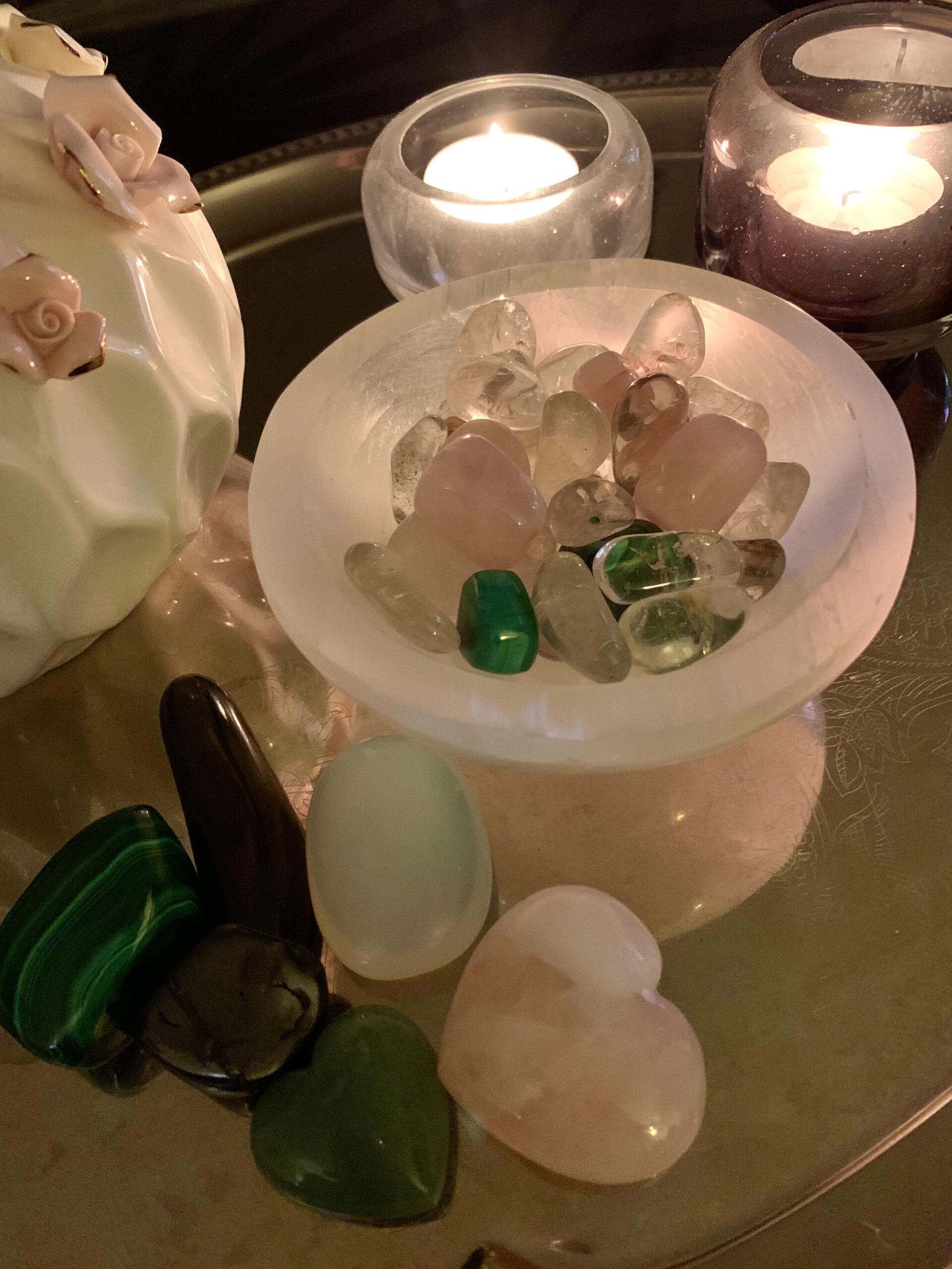 krystaller, energi, healing, crystal lab