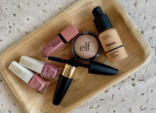 budgetkøb, makeup, Cocopanda, mascara, highlighter, matte læber