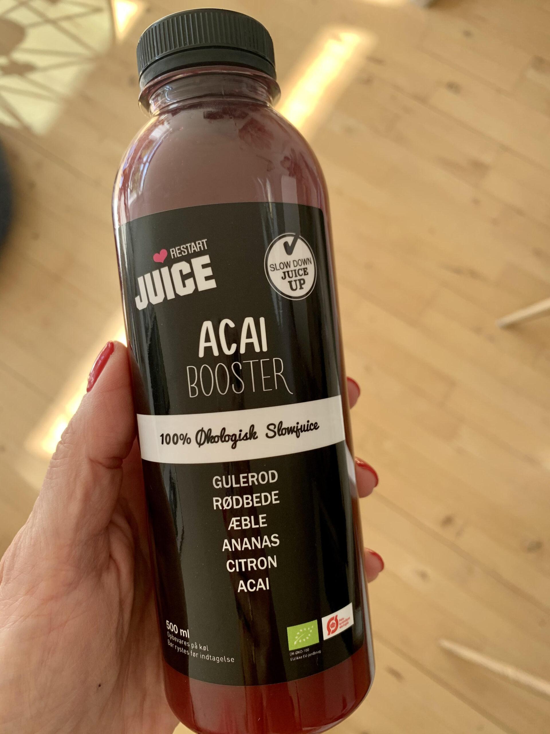 Juicekur, Restart Jucie, detox, udrensning, krop