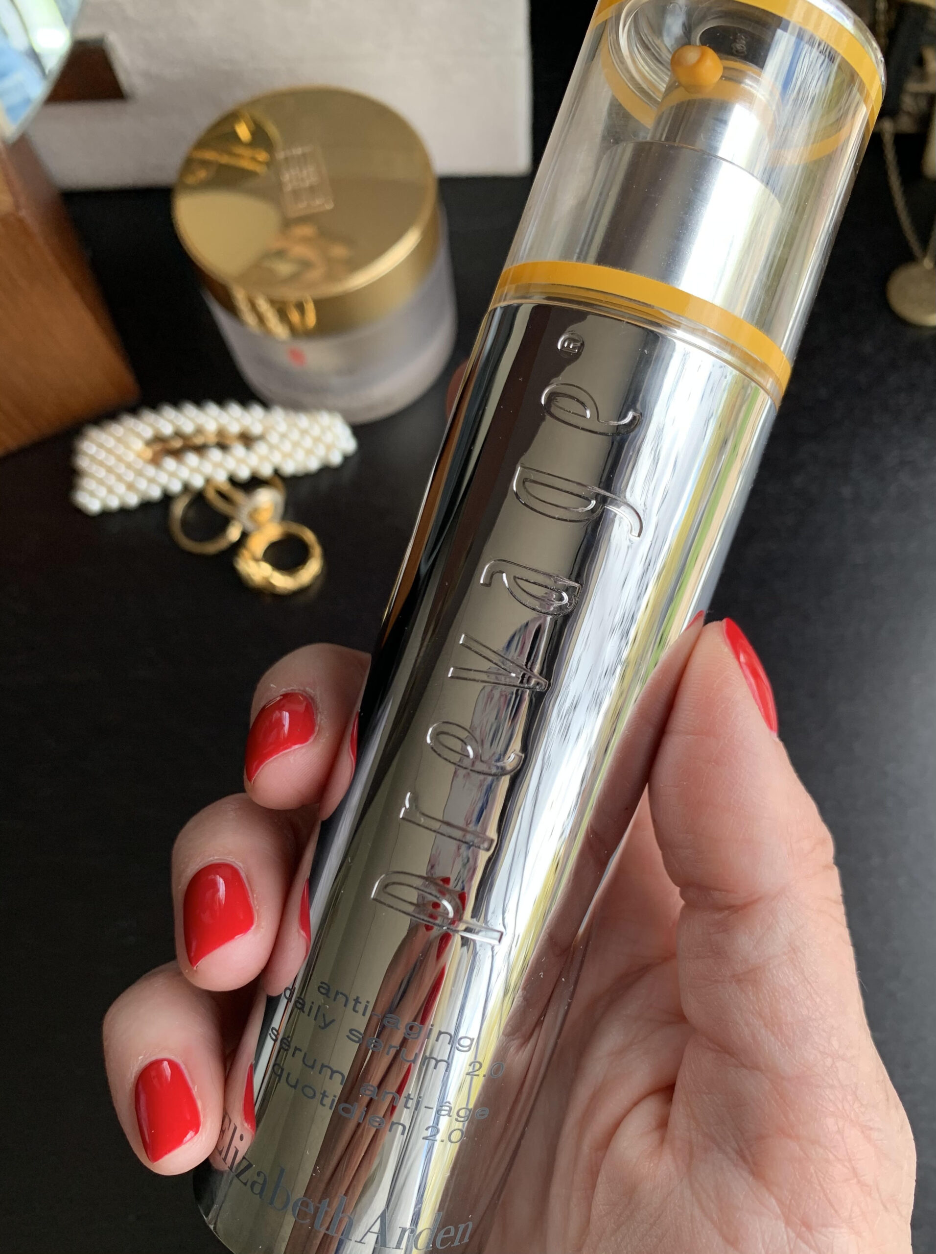 Prevage Anti-aging Daily Serum, anti-age serum, Elizabeth Arden, serum, hudpleje